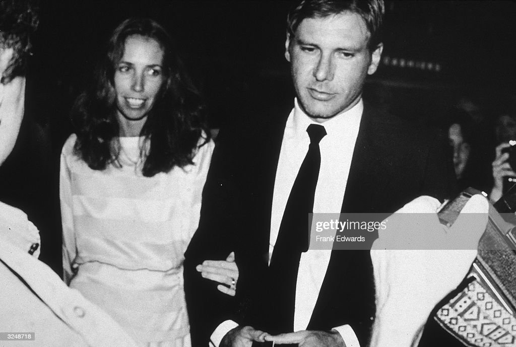 American actor Harrison Ford and wife, screenwriter, Melissa Mathison, arrive at the 35th Annual Writers Guild Awards at the Beverly Hilton, Beverly Hills, California.
