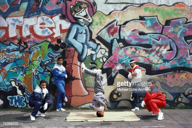 April 1984 New York Brooklyn Breakdancers Photo by Michael Ochs Archives/Getty Images