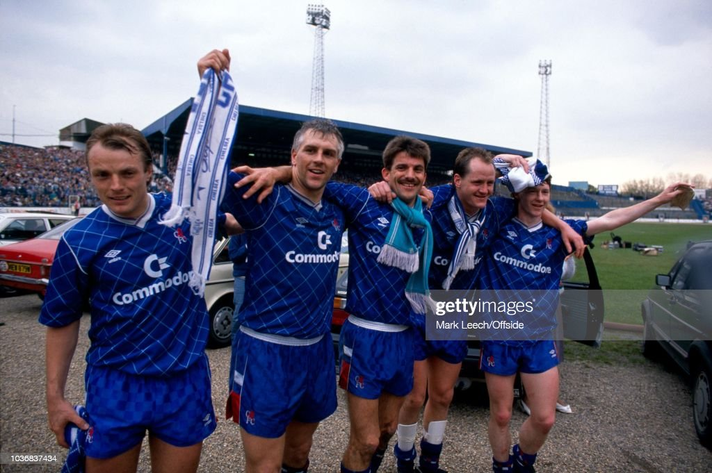 Chelsea 1989 Promotion : News Photo