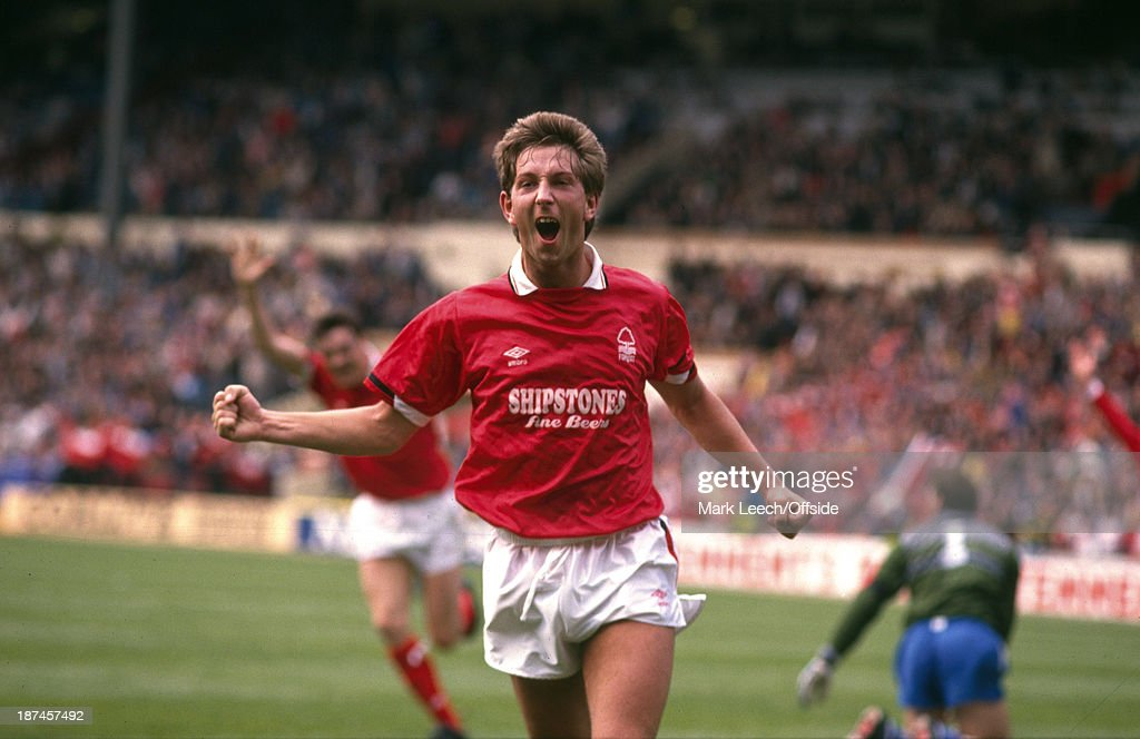 Football - 1989 Simod Cup Final Nottingham Forest-Everton : News Photo