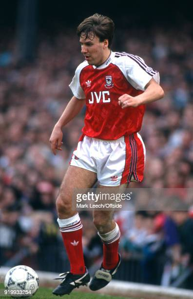 11 April 1992 London Football League Division One Arsenal v Crystal Palace Paul Merson of Arsenal