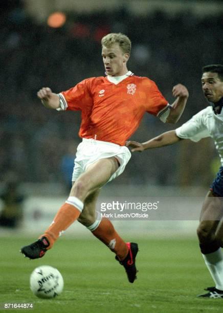 England v Netherlands Dennis Bergkamp of Netherlands