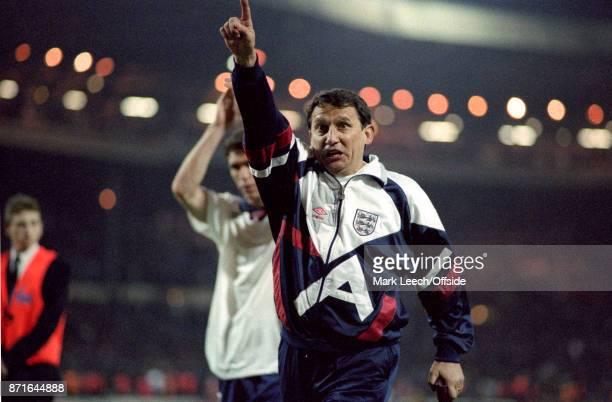 April 1993 Wembley : England v Netherlands :England coach Graham Taylor after the match