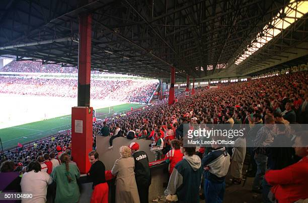 Premier League Liverpool v Norwich City the final day of the famous Spion Kop as a standing terrace