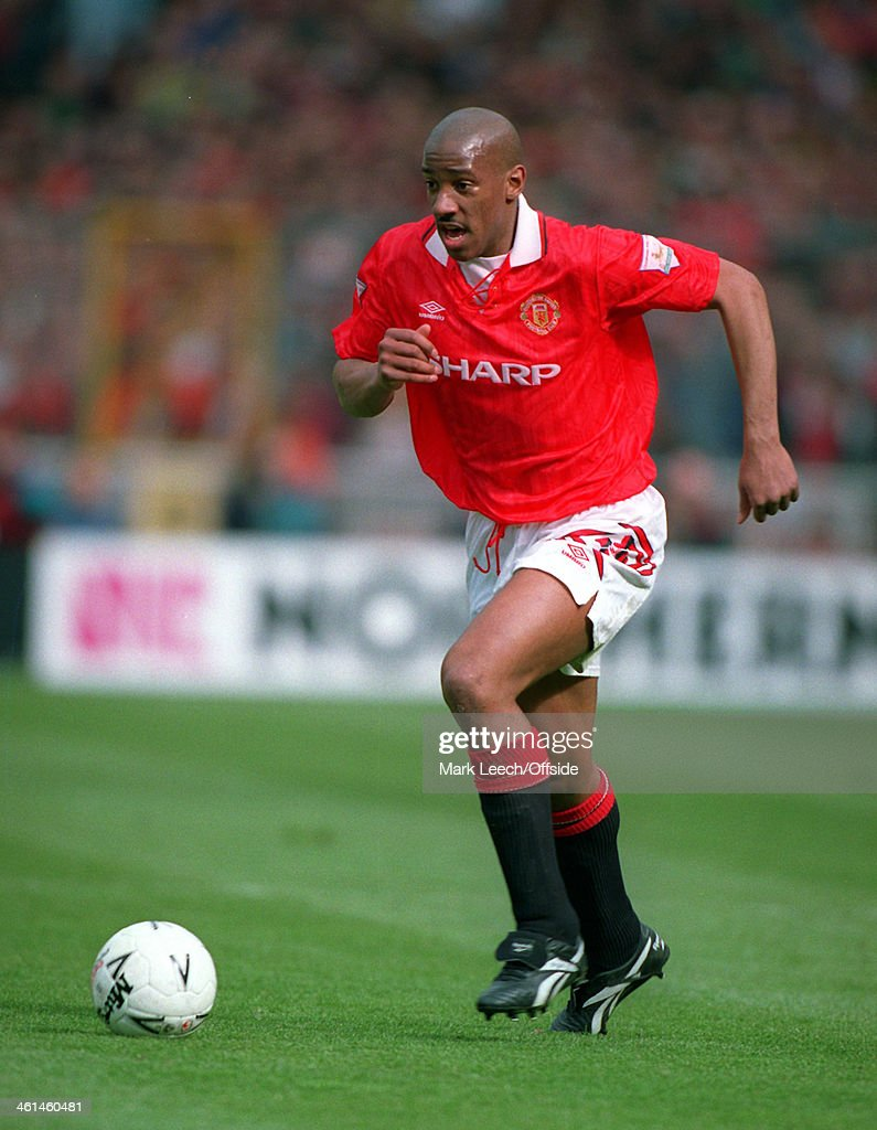 Dion Dublin Manchester United FC 1994 : News Photo