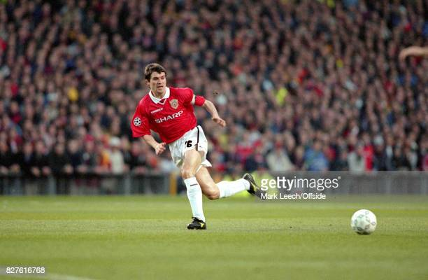 Champions League - Semi Finals- 1st Leg - Manchester United v Juventus: United captain Roy Keane in action.Photo: Mark Leech / Getty Images