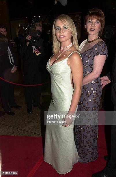 April 2000 Alyssa Jane Cook at the TV Week Logies 2000 at the Crown Casino in Melbourne