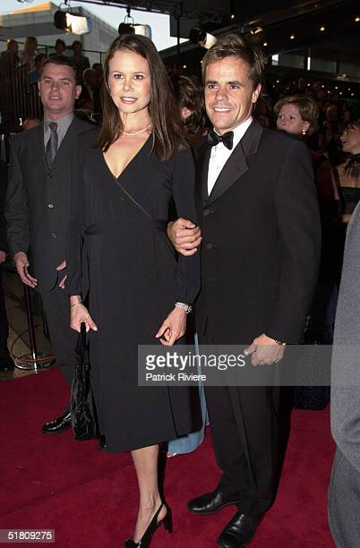 April 2000 Antonia Kidman husband Angus Hawley at the TV Week Logies 2000 at the Crown Casino in Melbourne
