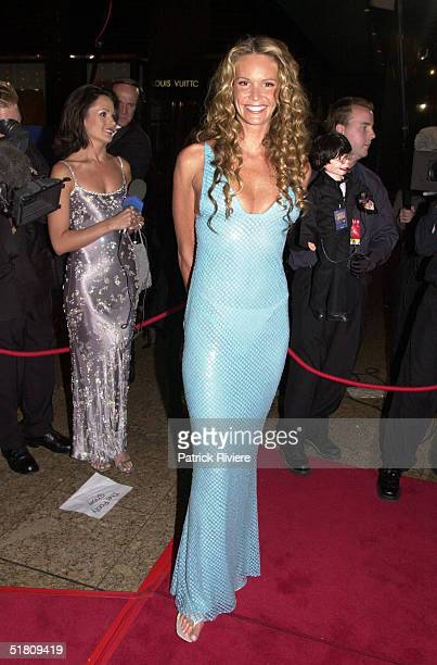 April 2000 Elle Macpherson at the TV Week Logies 2000 at the Crown Casino in Melbourne