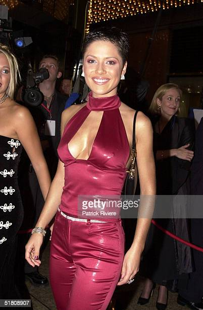 April 2000 Kylie Watson At the TV Week Logies 2000 at the Crown Casino in Melbourne