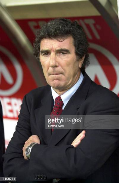 Dino Zoff coach of Lazio Serie A 24th Round League match between Milan and Lazio played at the San Siro Stadium Milan DIGITAL CAMERA Mandatory Credit...