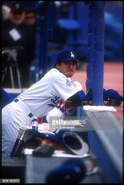 Kazuhisa Ishii of the Los Angeles Dodgers during the Dodgers 90 victory over the Colorado Rockies at Dodger Stadium in Los Angeles CA