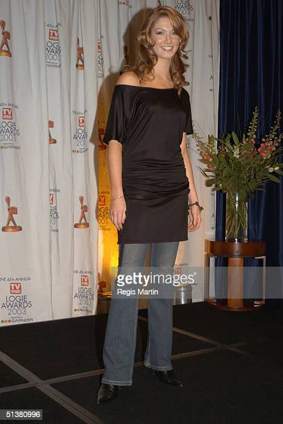 April 2003 - ? X102 - DELTA GOODREM at the Logie Award Nominations at the Crown towers in Melbourne, Victoria, Australia - X102 - PEOPLE -...