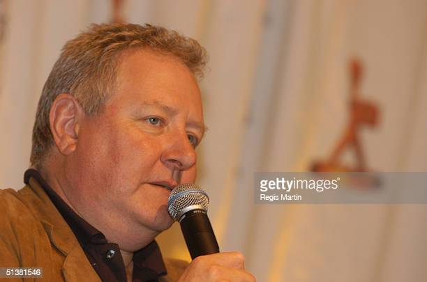 14 April 2003 X102 JOHN WOOD at the Logie Award Nominations at the Crown towers in Melbourne Victoria Australia X102 PEOPLE XSF03852733