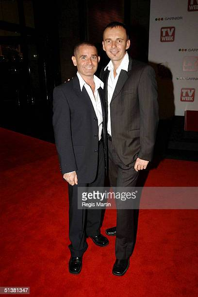 18 April 2004 GAVIN ATKINS WARREN SONIN from THE BLOCK 1 arrive on the red carpet for the 2004 TV Week Logie Awards At the Crown Casino Melbourne...