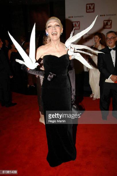 18 April 2004 JEANNIE LITTLE arriving on the red carpet for the 2004 TV Week Logie Awards At the Crown Casino Melbourne Victoria Australia