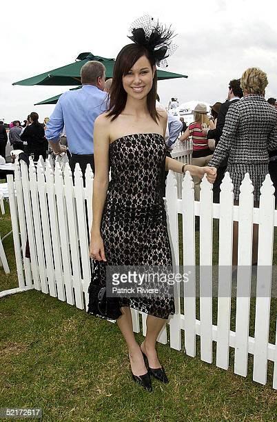 3 April 2004 Shae Brewster at the Golden Slipper Racing Carnival held at Rosehill Gardens Racecourse Rosehill Sydney Australia