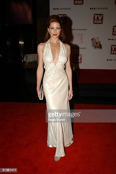 18 April 2004 SIMMONE JADE MACKINNON arriving on the red carpet for the 2004 TV Week Logie Awards At the Crown Casino Melbourne Victoria Australia...