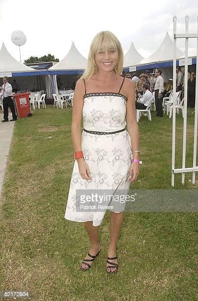 3 April 2004 Susie Maroney at the Golden Slipper Racing Carnival held at Rosehill Gardens Racecourse Rosehill Sydney Australia