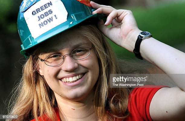 April 2008 CREDIT Katherine Frey / TWP Rockville MD Melissa Rice is an environmental activist She is president of Montgomery County Student...