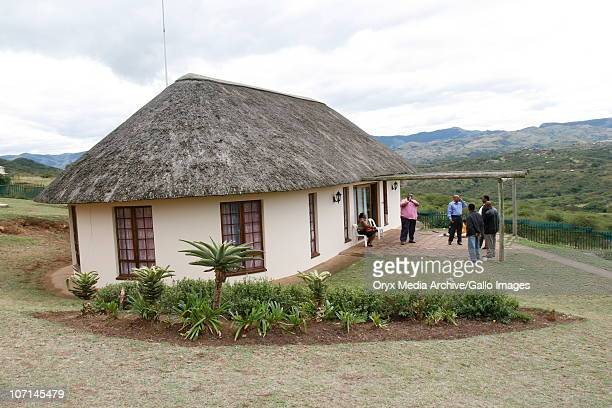 ANC President and South Africa's then presidentelect Jacob Zuma spent the 22nd April 2009 voting day relaxing at his homestead in Nkandla...