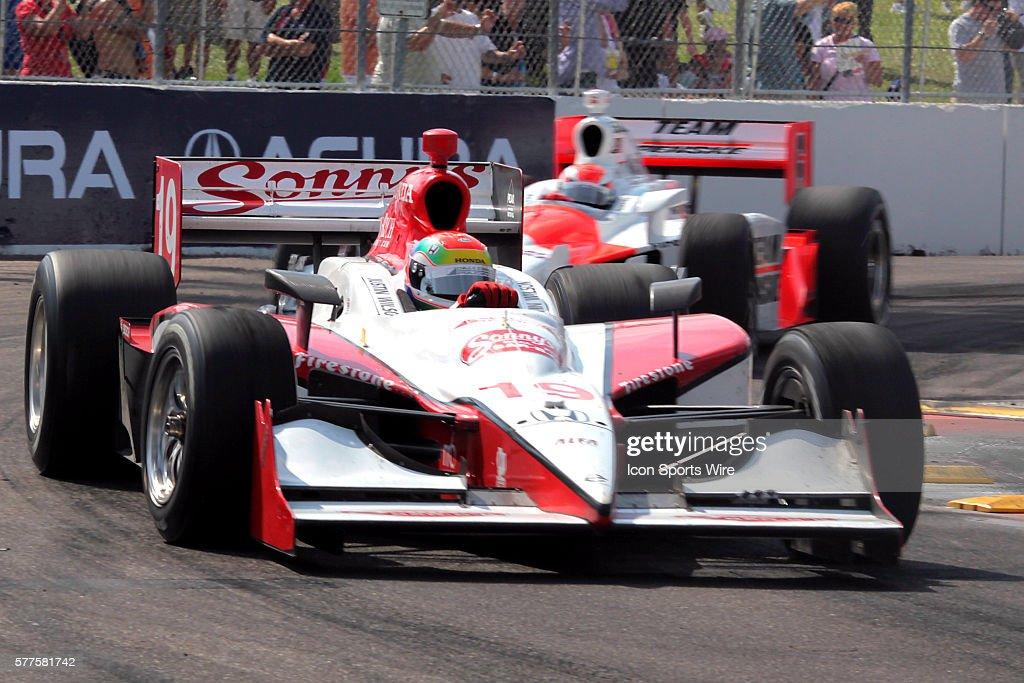 IRL - Indy Car Honda Grand Prix of St. Petersburg : News Photo
