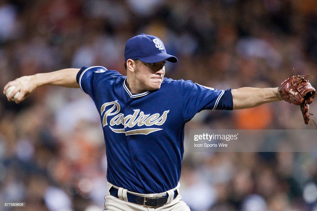 MLB: APR 21 Padres at Giants : News Photo