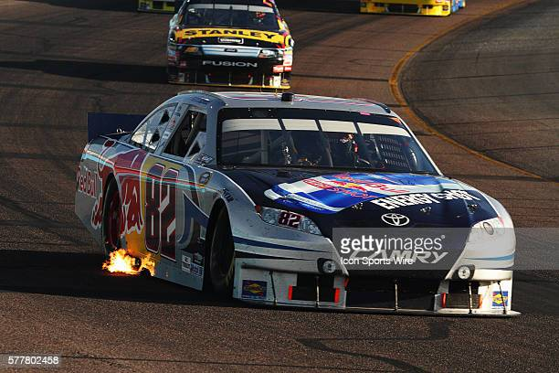 Scott Speed in the Red Bull Toyota during the SUBWAY Fresh Fit 600? Sprint Cup Series Race at Phoenix International Raceway in Avondale Arizona.