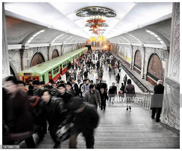 CONTENT] 15 April 2012 Pyongyang Puhung Metro Station Pyongyang Metro is the deepest metro in the world they say Puhung means revitalizationquot or...