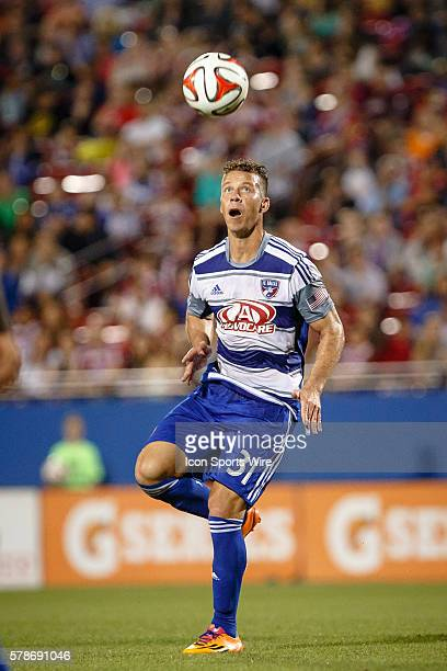 FC Dallas midfielder/defender Michel in action during the MLS soccer match between Toronto FC and FC Dallas at Toyota Stadium in Frisco TX Dallas...