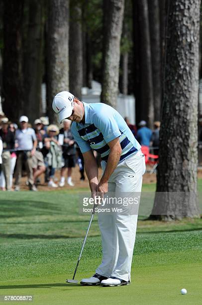 Former Master's Champion, Zach Johnson, during the first round of the RBC Heritage presented by Boeing, golf tournament, from Harbour Town Golf Links...