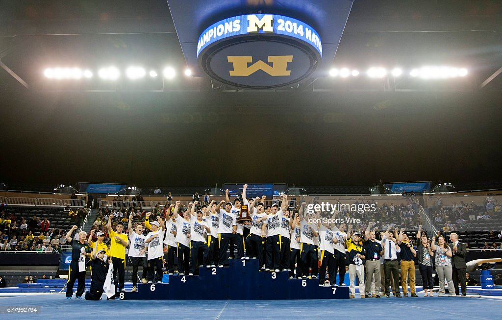 NCAA GYMNASTICS: APR 11 NCAA Men's Gymnastics Championships : News Photo