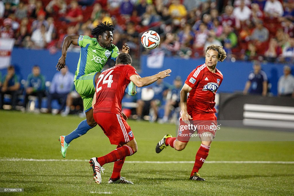 Seattle Sounders FC forward Obafemi Martins in action ... Obafemi Martins Sounders Fc
