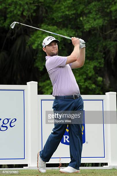 Branden Grace during the final round of the RBC Heritage Presented by Boeing golf tournament at Harbour Town Golf Links in Hilton Head Island SC