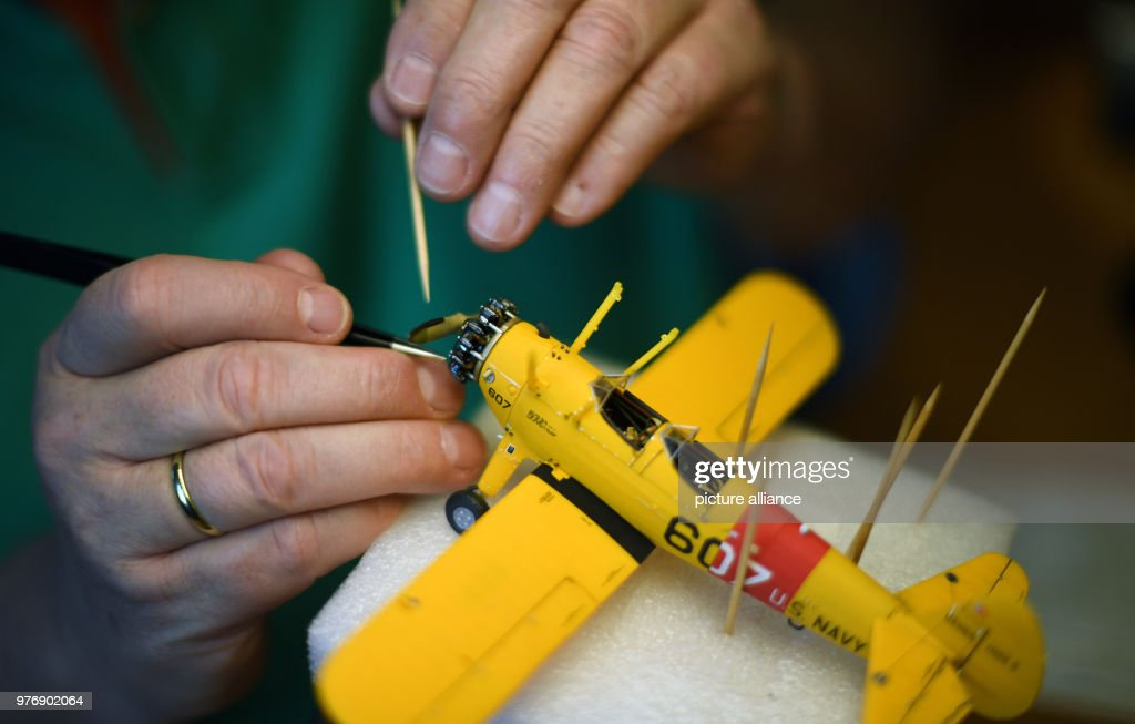Model builder Revell in Duesseldorf : News Photo