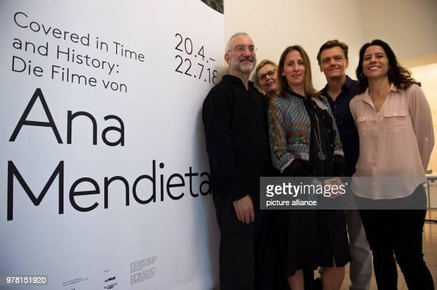 Howard Oransky curator Lynn Lukkas curator Stephanie Rosenthal museum director Thomas Oberender director of the Berliner Festspiele and Rachel...
