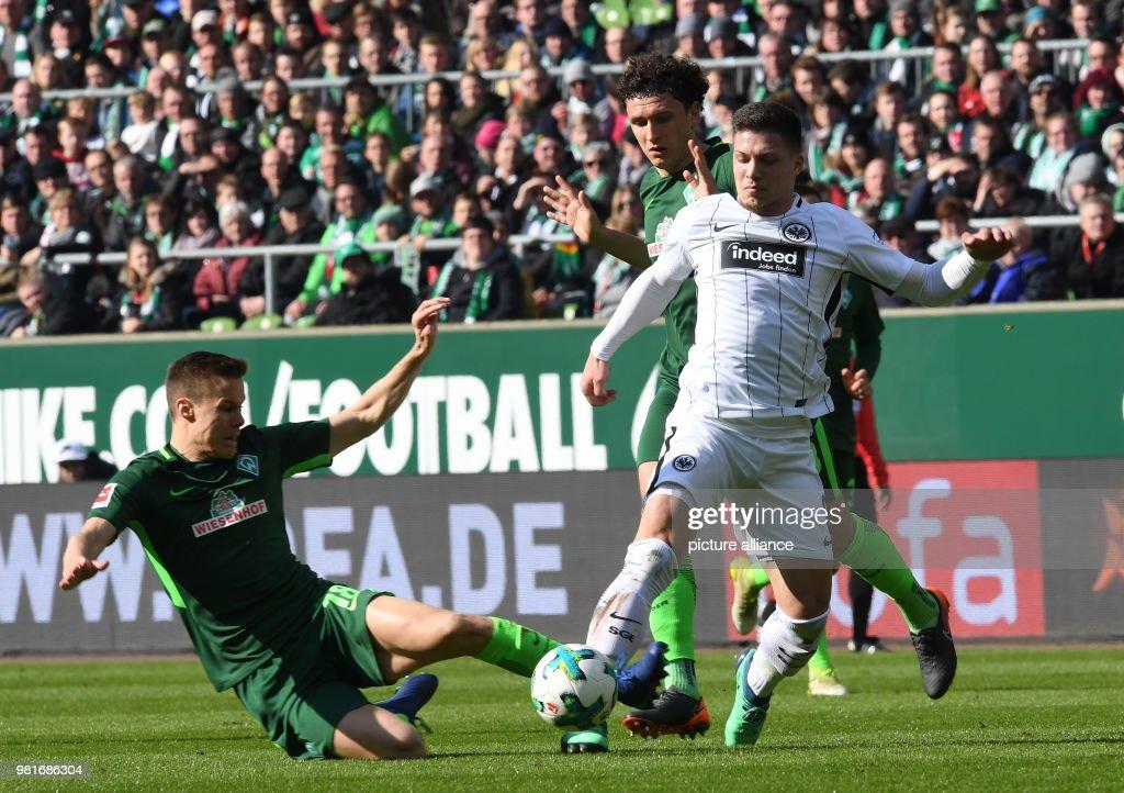 Werder Bremen vs Eintracht Frankfurt : News Photo