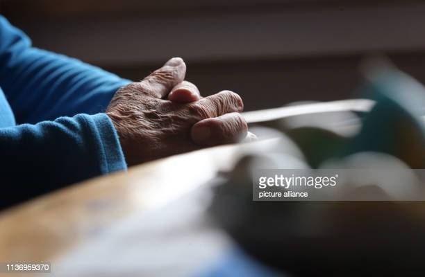April 2019, Bavaria, ---: An 83-year-old man who wants to keep the option of suicide open at the end of his life sits in his apartment. The Federal...