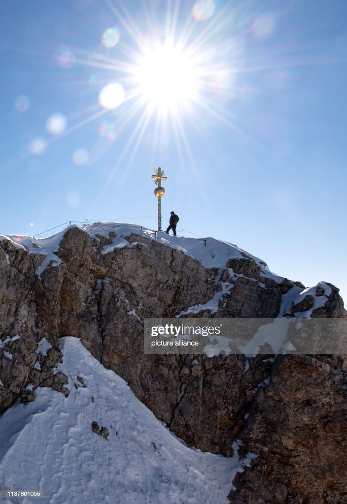 DEU: Summit Cross On Zugspitze To Be Repaired