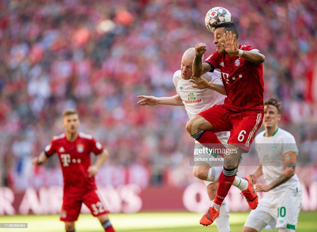DEU: German Bundesliga: FC Bayern Munich - Werder Bremen