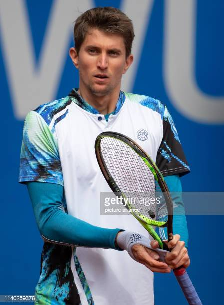 Tennis ATPTour Munich singles men 1st round Garin Maden Yannick Maggots is looking at the square He lost 64 and 62 Photo Sven Hoppe/dpa