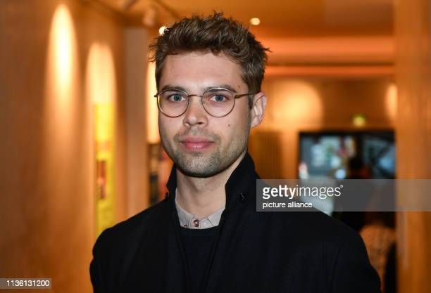 """April 2019, Berlin: Headwriter Constantin Lieb at the German premiere of the series """"Eden"""" at Kant Kino. In the new series, which Arte wants to start..."""