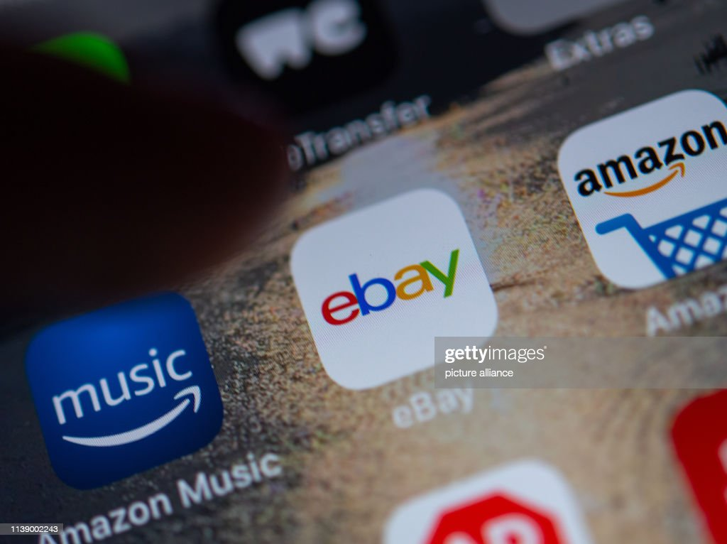 Illustration The Logo Of The App Of The Online Marketplace Ebay Can News Photo Getty Images