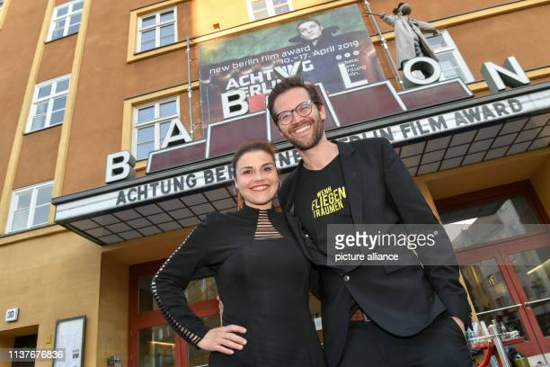 Katharina Wackernagel and her brother Jonas Grosch come to the premiere of the film Wenn Fliegen träumen at the film festival Achtung Berlin at the...