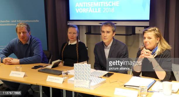 Sigmount Königsberg AntiSemitism Commissioner of the Jewish Community of Berlin Benjamin Steinitz Project Manager of the AntiSemitism Research and...