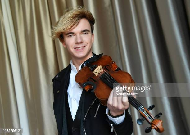 April 2019, Berlin: The violinist Yury Revich, an Austrian violinist of Russian origin, will take part in a press conference on the plans of the...