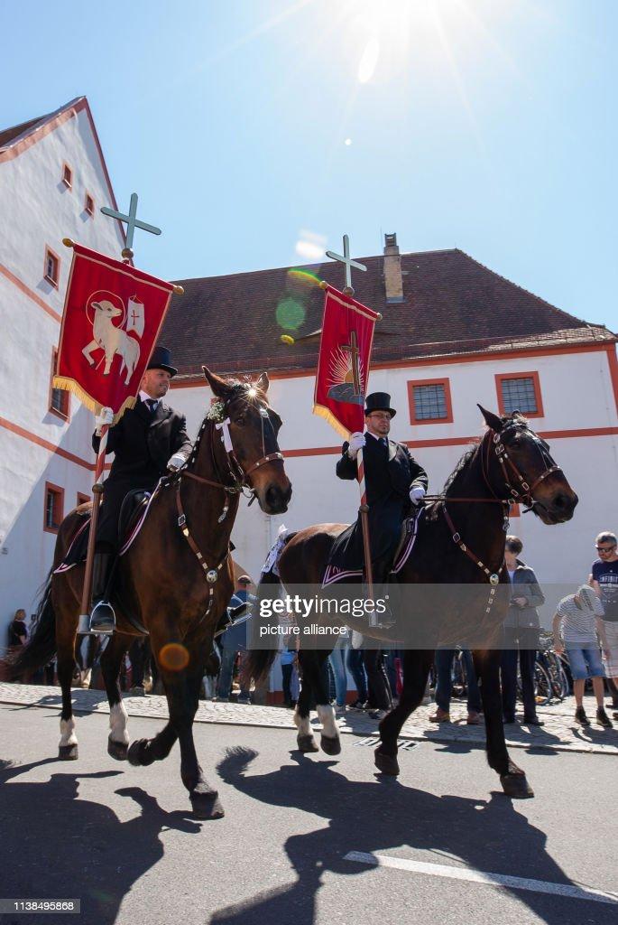 DEU: Sorbian Easter Riders