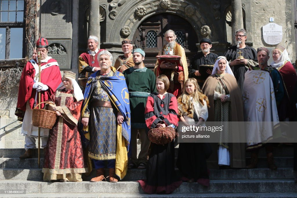 DEU: Easter Procession In Quedlinburg