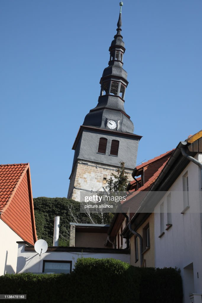 DEU: The Leaning Tower Of Bad Frankenhausen