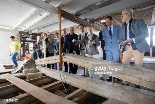 BenjaminImmanuel Hoff Thuringian Minister of Culture Tobias PfeiferHelke Foundation Director and Chairman of the Foundation Schloss Friedenstein and...